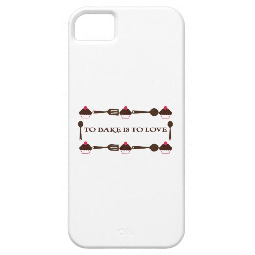 To Bake Is To Love iPhone 5/5S Case