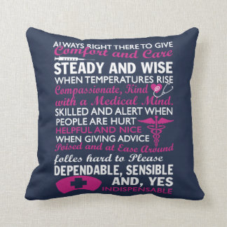To be a Nurse Throw Pillow
