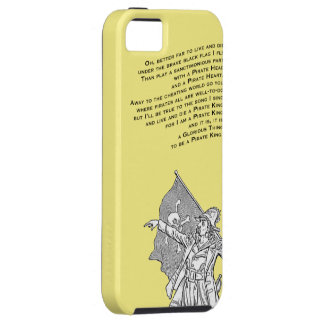 To be a Pirate King iPhone 5 Case