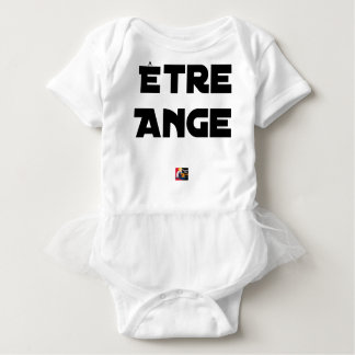 TO BE ANGEL - Word games - François City Baby Bodysuit