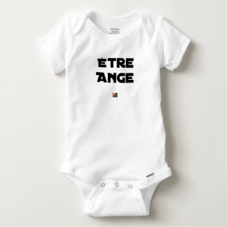 TO BE ANGEL - Word games - François City Baby Onesie