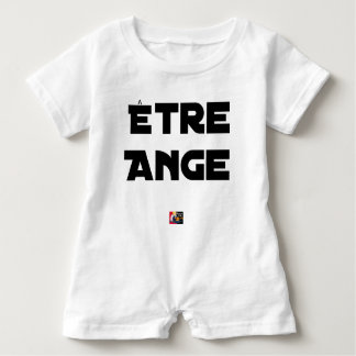 TO BE ANGEL - Word games - François City Baby Romper