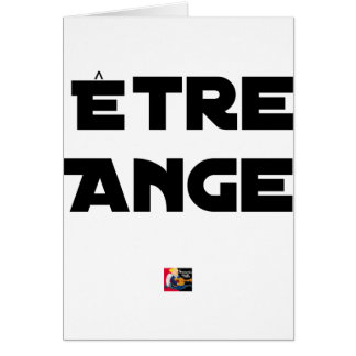 TO BE ANGEL - Word games - François City Card