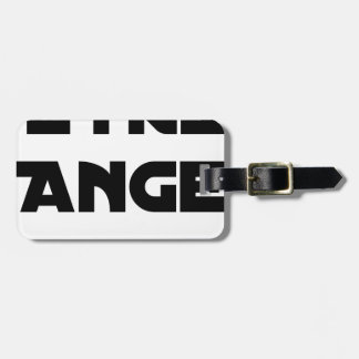 TO BE ANGEL - Word games - François City Luggage Tag