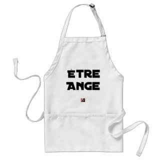 TO BE ANGEL - Word games - François City Standard Apron
