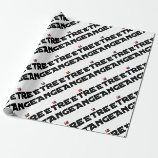 TO BE ANGEL - Word games - François City Wrapping Paper