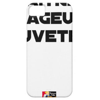 TO BE BORN ANGRY RESCUER - Word games iPhone 5 Cases