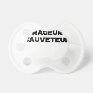 TO BE BORN ANGRY RESCUER - Word games Pacifier