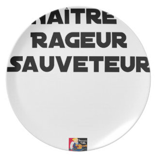TO BE BORN ANGRY RESCUER - Word games Plate