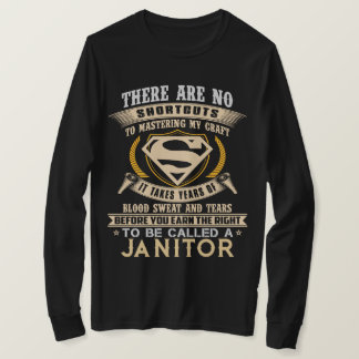 To Be Called A JANITOR. Gift Shirt