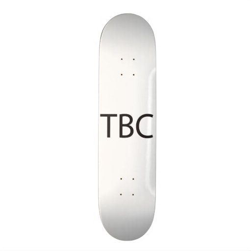 To Be Continued.ai Skate Boards