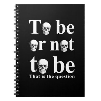 To be or not to be notebook