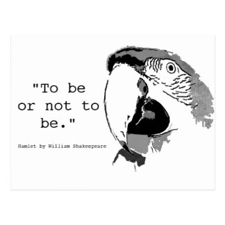 To Be Or Not To Be Postcard