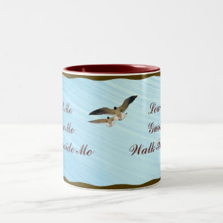 TO BLESSED TO BE STRESSED--MUG Two-Tone COFFEE MUG