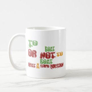 To Boat Mug