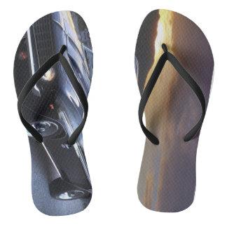 to car flip flops