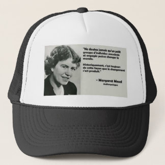 To change the world trucker hat