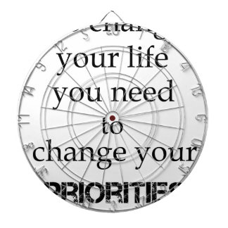 to change your life you need to change your priori dartboard