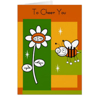 """""""To Cheer You"""" Encouragement Card"""