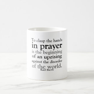To Clasp the Hands in Prayer Coffee Mug