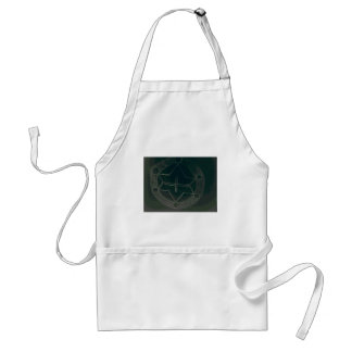 to conquer and ready to win standard apron
