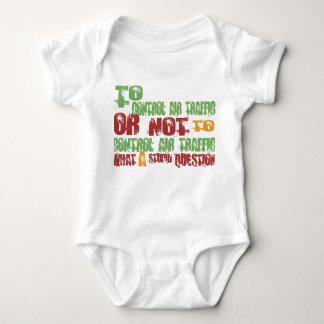 To Control Air Traffic Baby Bodysuit