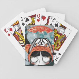To crunch! playing cards