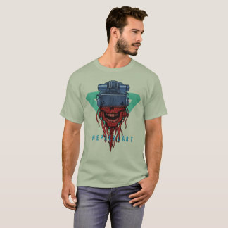 to cyber skull neplealart2 T-Shirt