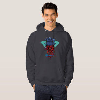 to cyber skull neplealart 2 hoodie