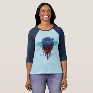 to cyber skull neplealart 2 T-Shirt