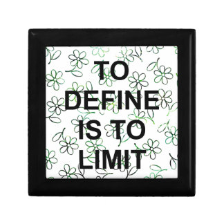 TO DEFINES is TO LIMIT.jpg Gift Box