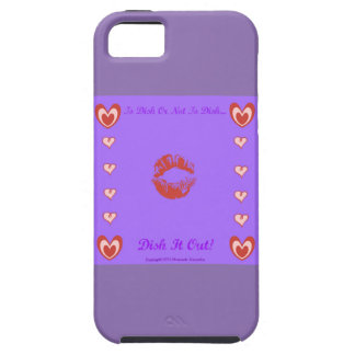 To Dish Or Not To Dish by Diamante Lavendar iPhone 5 Cases