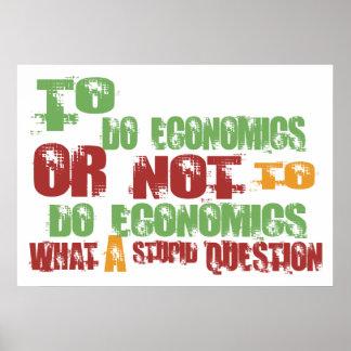 To Do Economics Poster