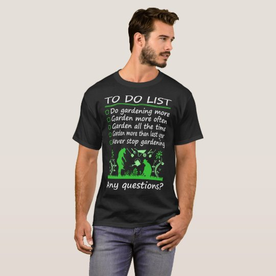To Do List Hairdressing More Any Questions Tshirt