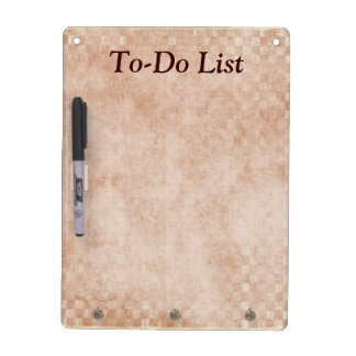 To-Do List Planner Dry Erase Board