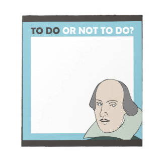 To Do or Not To Do Memo Pad