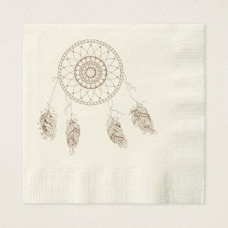 to dreamcatcher disposable napkins