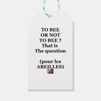 TO EEB GOLD NOT TO EEB? That is the question Gift Tags