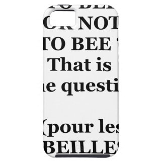 TO EEB GOLD NOT TO EEB? That is the question iPhone 5 Case