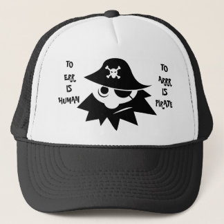 TO ERR IS HUMAN TO ARRR IS PIRATE Cap