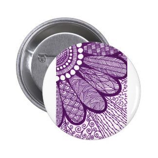 to flower doodle drawing flower 2 inch round button