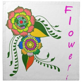 to flower mandala2 napkin