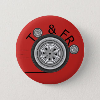 To & Fro Carshare badge 2 Inch Round Button