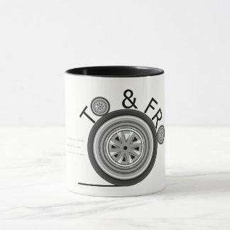 To & Fro Mug - White