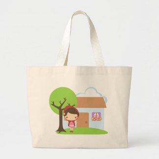 To Grandma's House We Go! Large Tote Bag