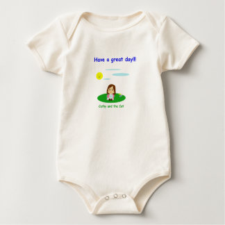 """""""To great day! """" Baby Bodysuit"""