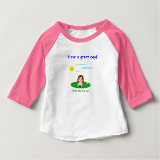 """To great day! "" Baby T-Shirt"