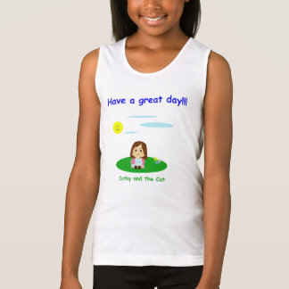 """To great day! "" Tank Top"