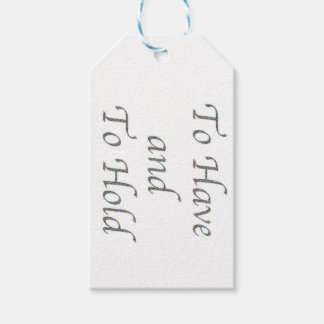 To Have and To Hold Gift Tags