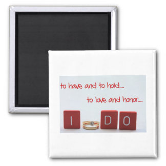 to have and to hold refrigerator magnet